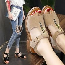 35-40 size Summer women shoes low heel Open Toe women sandals