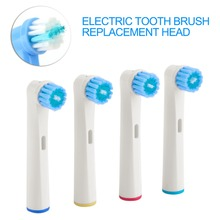 4Pcs/lot Professional Replaceable Electric Toothbrush heads Bright Fits Oral Tooth Brush Replacement Tips Clean Tooth White