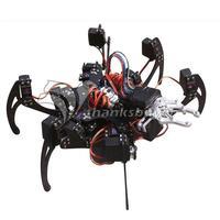 С коготь и LD-1501 сервоприводы контроллер собраны 20DOF алюминий гексапод Роботизированная Паук шесть ног робот