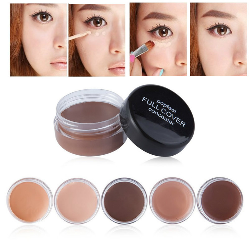 Concealer-Stick Foundation Face-Eye Make-Up Creamy Hide 5-Color Maquillaje Profesional