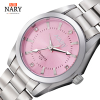 NARY New Fashion Watch Women S Rhinestone Quartz Watch Relogio Feminino The Women Wrist Watch Dress