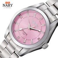 NARY New Fashion Watch Women S Rhinestone Quartz Watch Relogio Feminino The Women Wrist Watch Dress