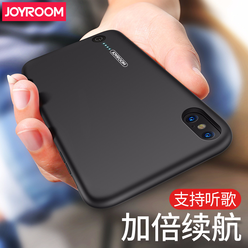 Joyroom 3500mAh Battery Charger Case For iPhone X External Backup Charging Case Ultra Thin Powerbank Charger Case for iPhone X