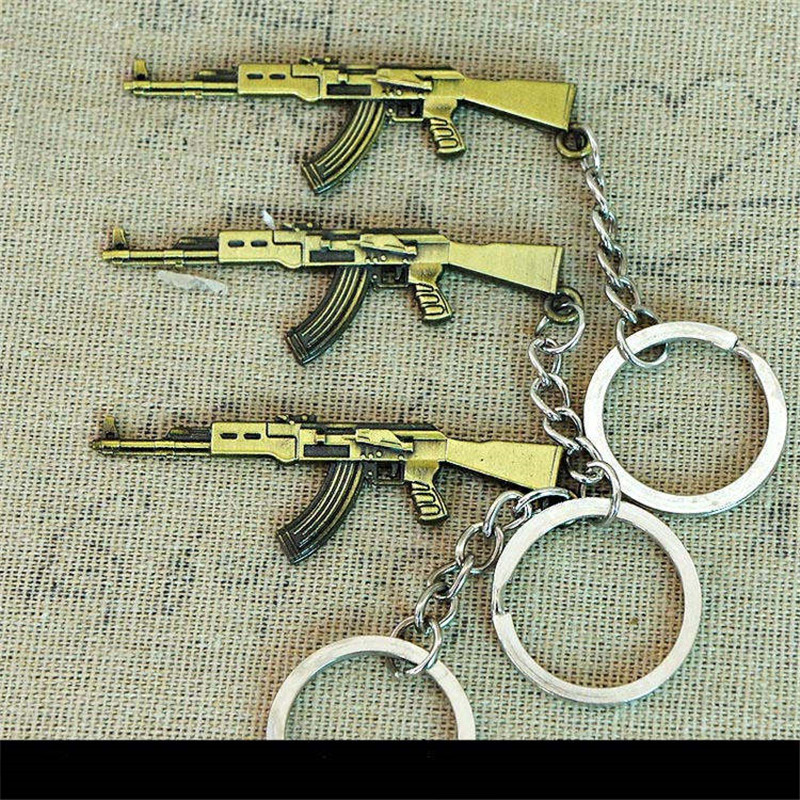 Keychains bullet gun model (20)