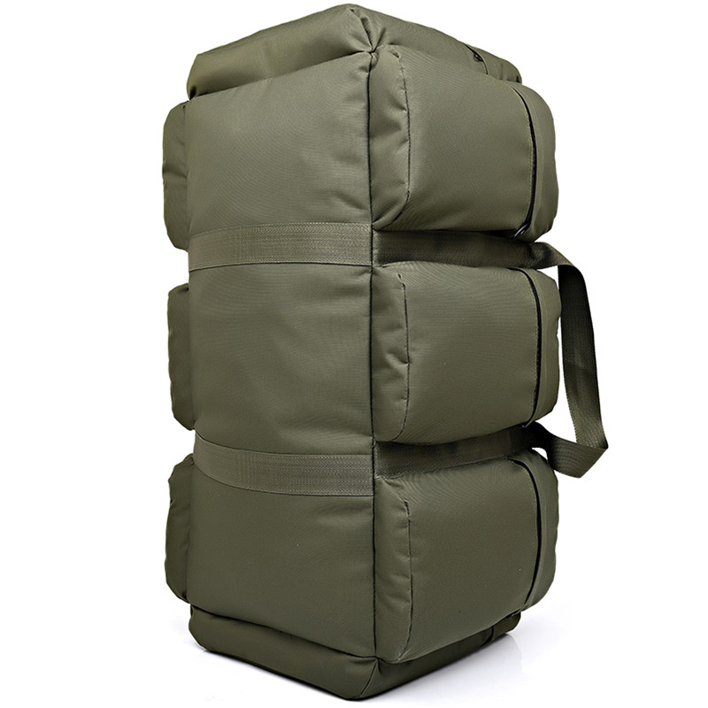 Large Capacity Men s Military Backpack 90L Multifunction Waterproof Oxford Hike Camp Backpacks Wear resisting Travel