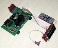 AC 12VOr15V (10 W) AC26V (120 W) לוח מגבר LM3886 לוח מגבר מרחוק LCD