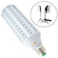 Studio Bulb LED 5500K E26 E27 Photography Bulb Prefrssional Video Background Camera Lamp Daylight Photo Lights Bulbs