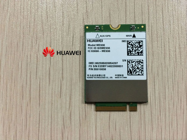 Huawei ME936 4 G LTE WCDMA / HSDPA / HSUPA / HSPA + GPRS / EDGE NGFF inalámbricos módulos 4 G tarjeta ME936 VS ME906E