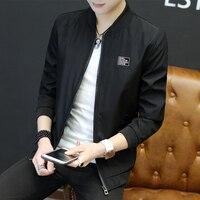 Hommes de Veste Mince Coréen Style Beau Jeune Hommes Baseball de Sport Printemps Automne Porter Veste de Sport Vêtements