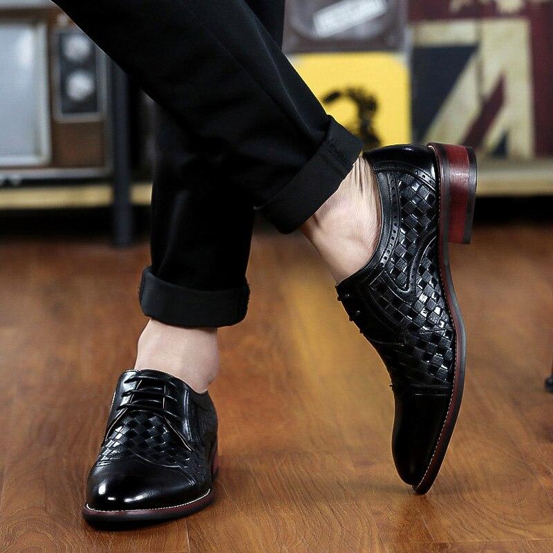Sapatas Altura Vestido Crescente Oxfords Moda Dos Black Zapatos Da Negócios Black amp; Sapatos De Brown Calçado Hombre Masculino Homens brown Formal qv5wqr