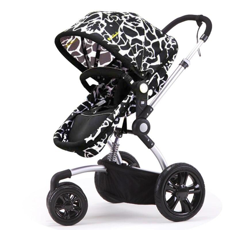 Mode Folding Baby Kinderwagen Kinderwagen Baby, Licht Suspension ...
