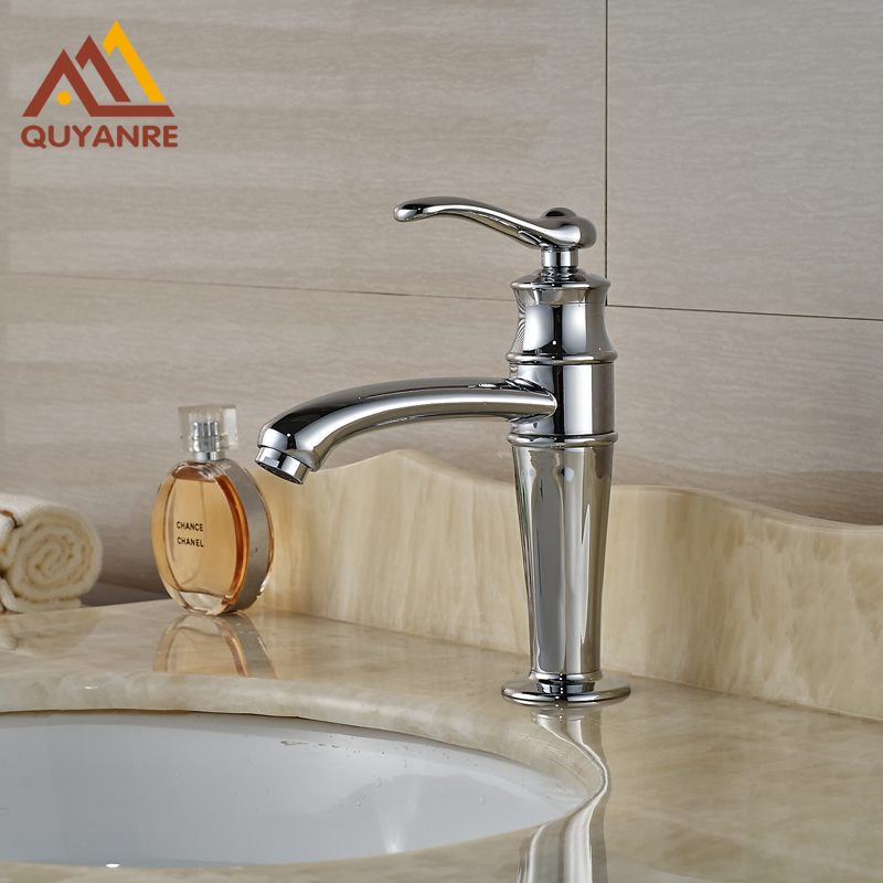 Free Shipping Vessel Bright Chrome Bahtroom Faucet Deck Mount Cold Hot Water Tap china sanitary ware chrome wall mount thermostatic water tap water saver thermostatic shower faucet