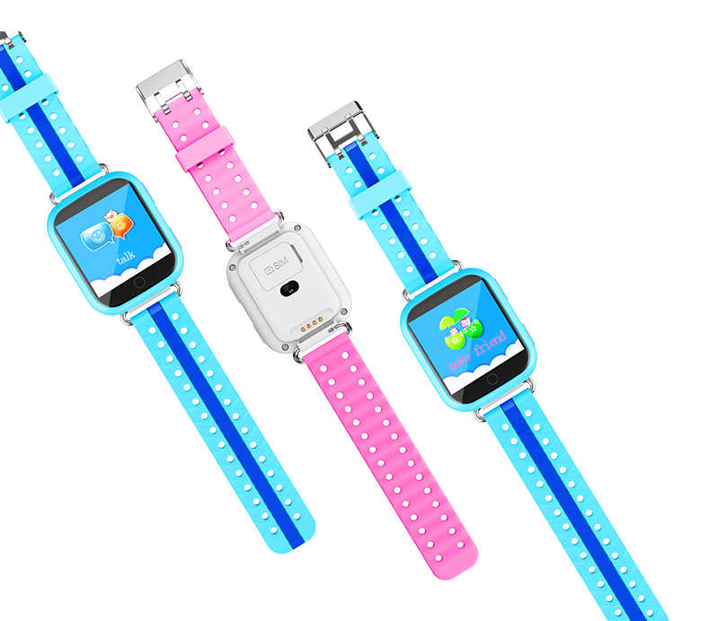 GPS Smart Watch Q750 Q100 Baby Smart Watch With 1.54inch Touch Screen SOS Call Location Device Tracker for Kid Safe