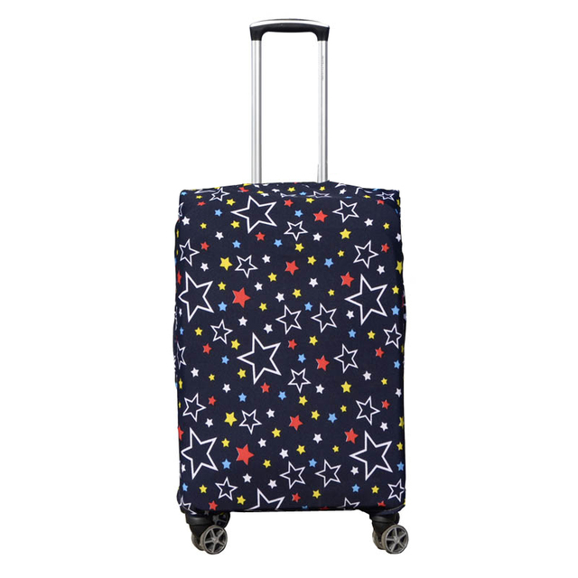 ODBIC Star Pattern Printing Suitcase Cover High Elasticity Trolley case Suitcase Dust luggage cover 18-26inch Luggage Covers