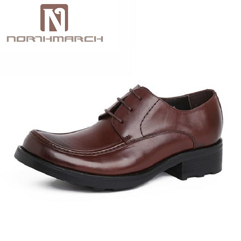 NORTHMARCH European Style Mens Dress Shoes Genuine Leather Luxury Brand Wedding Shoes Men Flats Office Male Chaussure HommeNORTHMARCH European Style Mens Dress Shoes Genuine Leather Luxury Brand Wedding Shoes Men Flats Office Male Chaussure Homme