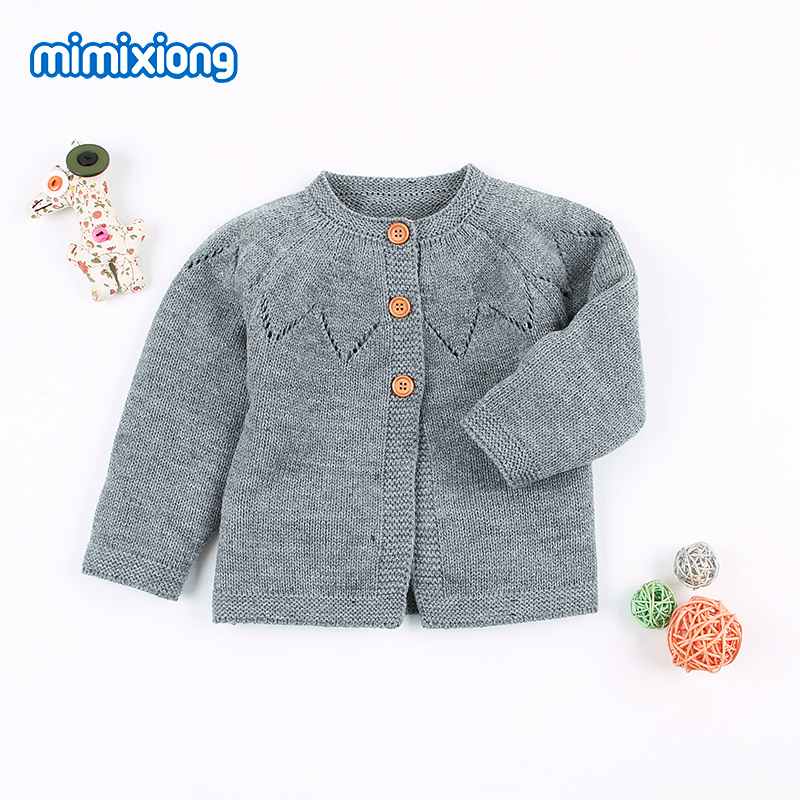 e663837ab Fashion Spring Baby Girl Sweater Cardigans Autumn Long Sleeve ...