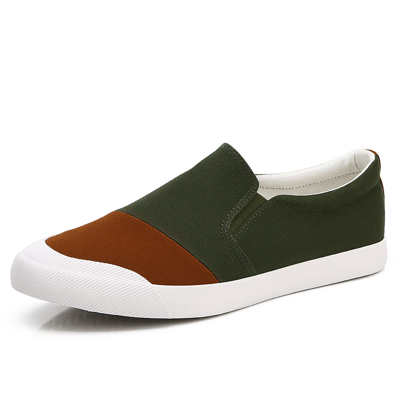 20018 spring and autumn new canvas shoes low to help color shoes simple and stylish fashion breathable casual shoes