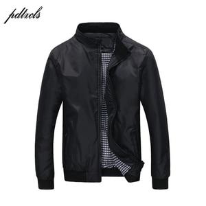 Image 1 - Hot Fashion Mens Dunne Lente Herfst Jassen Casual Mode Engeland Stijl Jas wind regen proof Jassen Grote size (M 5XL)