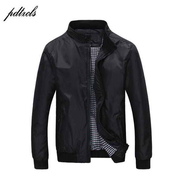 Hot Fashion Mens Thin Spring Autumn Jackets Casual Fashion England Style Jacket wind-proof rain-proof Jackets Big Size(M-5XL)
