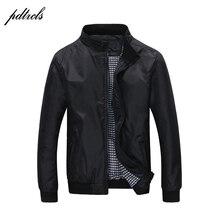 Mode chaude hommes mince printemps automne vestes décontracté mode angleterre Style veste coupe vent imperméable vestes grande taille (M 5XL)
