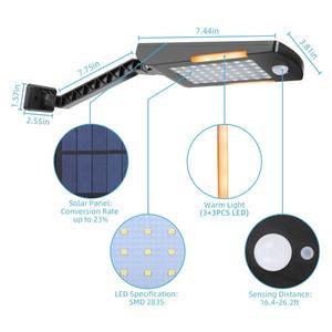 Image 4 - 48 ĐÈN LED Năng Lượng Mặt Trời 3 Chế Độ Cảm Biến Chuyển Động Chống Nước Ngoài Trời Sân Vườn LED Trang Trí Cầu Thang Vườn Truy Cập An Toàn Đèn Năng Lượng Mặt Trời