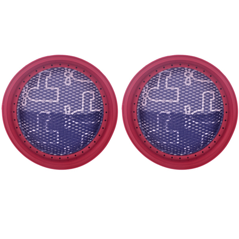 2Pieces For Dibea D18 D008Pro Hand-Held Vacuum Cleaner Round Washable Filter Meshes Filter Vacuum Cleaner Filter