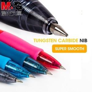 Image 4 - M & G China S Nummer 1 Intrekbare Gel Pen 0.5 Mm Andstal Zwart Blauw Rood Gel Inkt Refill Gelpen school Kantoorbenodigdheden Stationaire Pennen
