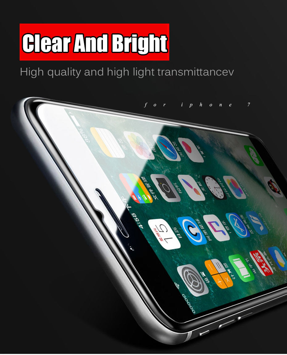 MOUSEMI Tempered Glass For iPhone 5S X 6 7 Screen Protector For iPhone 7 8 6s plus Protective Glass For iPhone 5 se 6 s 4s Glass (1)