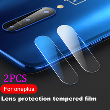 2Pcs/lot Back Camera Lens Tempered Glass For OnePlus One Plus 7 Pro 6T 6 5T 5 3T 3 1+7 Transparent Protector Protective Film
