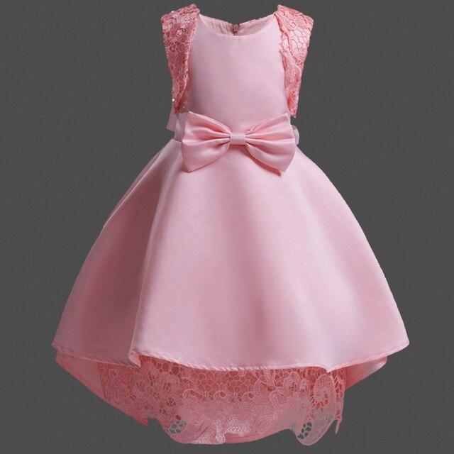 Vestido de Partido del Bebé Niños Princesa Del Cordón Del Vestido de ...