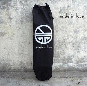 Image 4 - Skateboard Zaini SIngle Shouler Doppio Rocker/Piccolo Fishboard Che Trasportano Borse con Coulisse