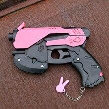 Аниме игра OW, реквизит для косплея D.va, аксессуары для косплея DVA, реквизит из ПВХ, игрушечный пистолет, пистолет, оружие 27 см * 19 см