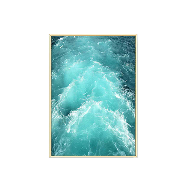 HTB1lqd4XvfsK1RjSszgq6yXzpXaL Gohipang Blue Sea And Sky Nordic Landscape Canvas Painting Free Seagull Waves Beach Art Poster Living Room Decor Seabirds Wall