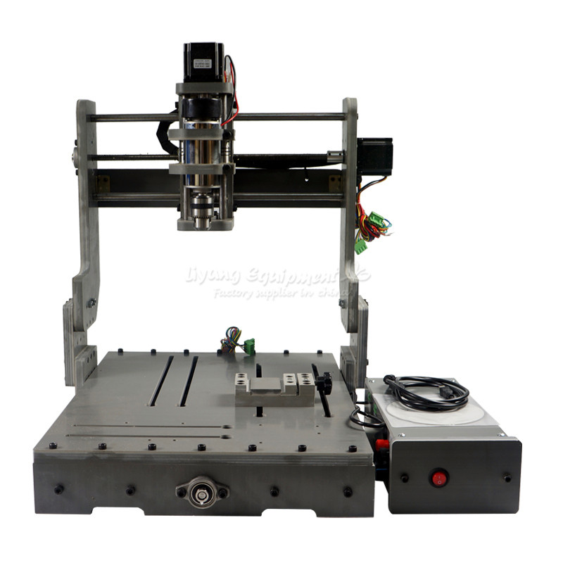 cnc Engraving machine DIY cnc 3040, upgraded to 3 axis CNC Router /Engraving Drilling and Milling Machine aluminum lathe body cnc 6040 router 1605 ball screw cnc frame kit diy cnc engraving machine
