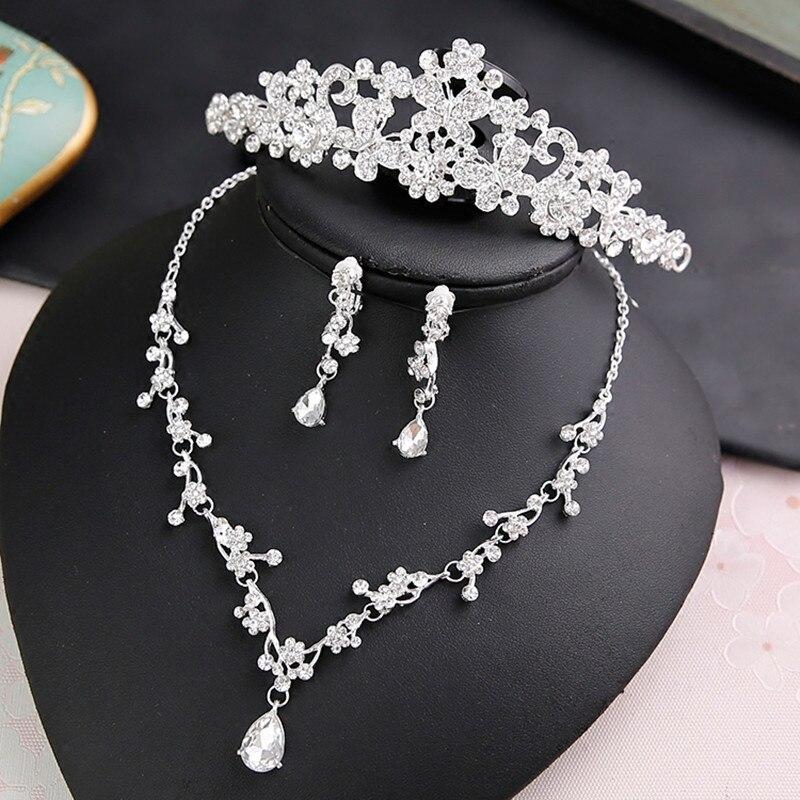 Fashion bridal jewelry sets necklace set dubai jewelry sets african beads jewelry Set de joyas bijoux ensemble wedding jewelry