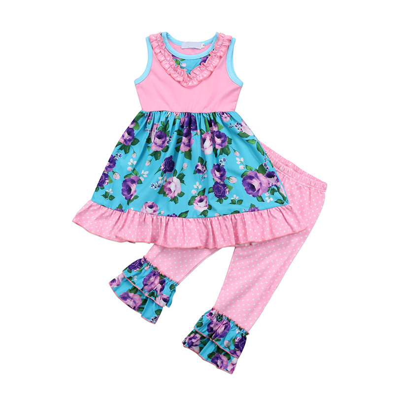 Summer Chilren Clothing 2018 Fashion Toddler Baby Girl ...