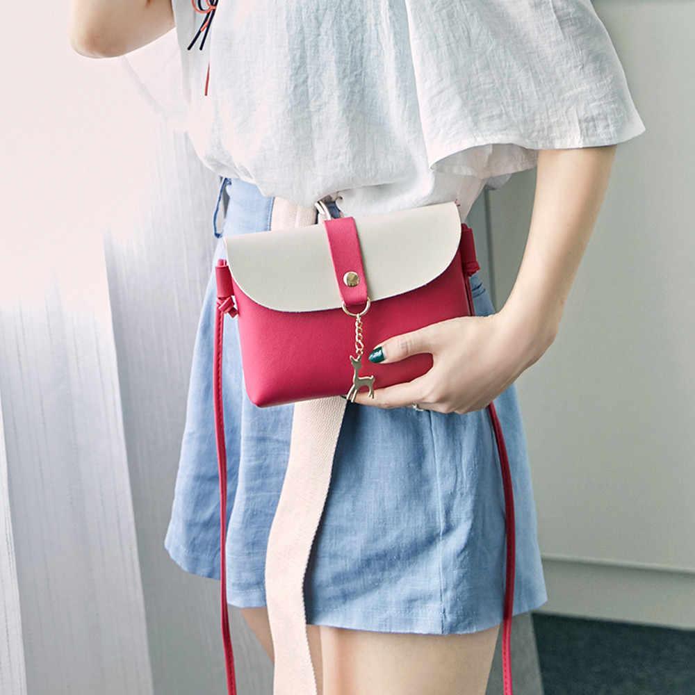 New Shoulder Bag Women Fashion Cover Deer Crossbody Bag Shoulder Phone Bag Coin bolsa feminina