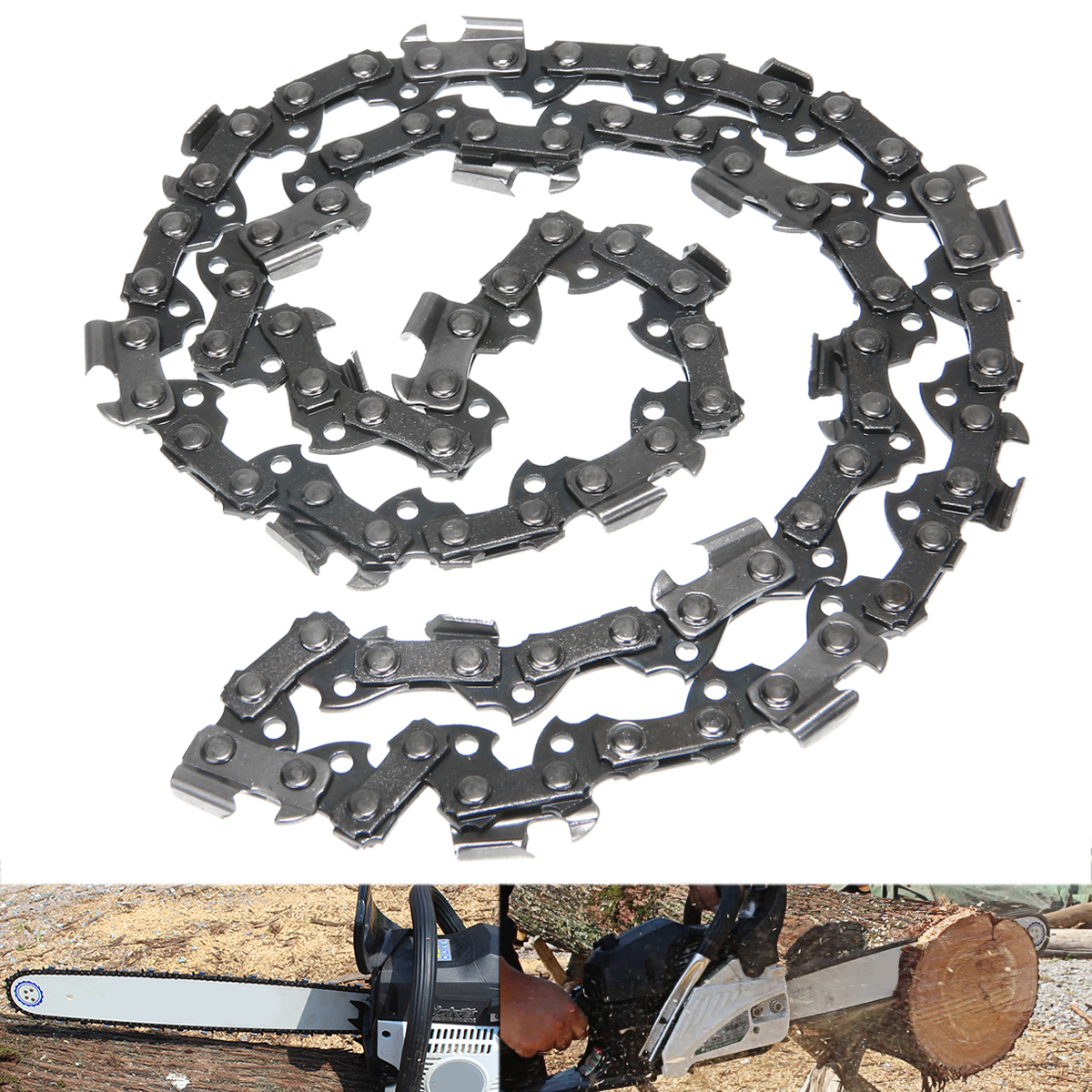 0.043 /& 0.050 Gauge Replace 12Sets Chainsaw Chain Links Repair 3//8LP Pitch
