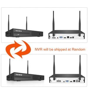 Image 2 - Techege 8CH 1080P NVR Audio zestaw do nadzorowania Plug and Play 8 sztuk 2MP HD bezprzewodowy wodoodporna Night Vision bezpieczeństwo System CCTV