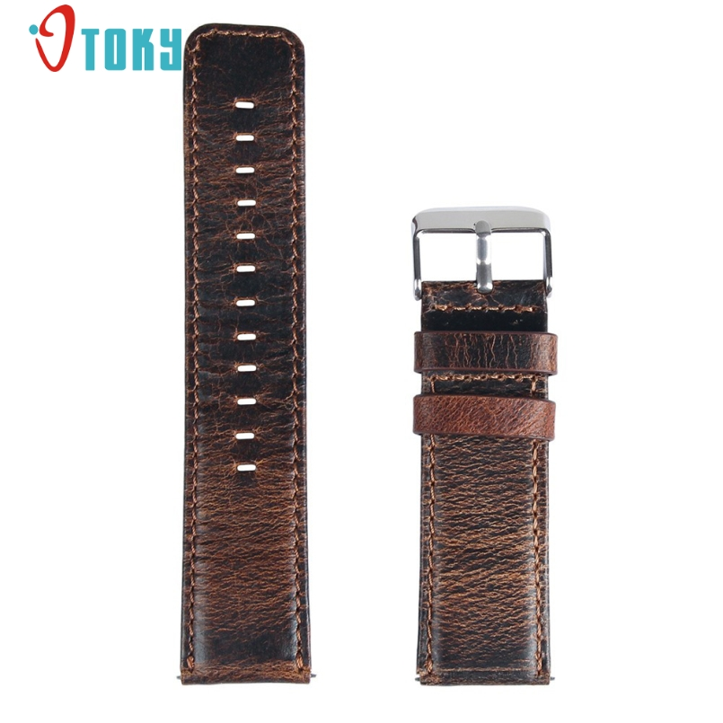 Excellent Quality 2017 Luxury Genuine Retro Leather Watch Band Wrist Strap For Fitbit Blaze Smart Watch Brand New