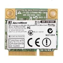 Azurewave AW CB160H Broadcom BCM94360HMB 802.11AC 1300Mbps Draadloze Wifi Wlan Bluetooth 4.0 Mini Pci E Kaart + 20 Cm MHF4 Antennes