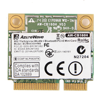 Azurewave AW-CB160H broadcom bcm94360hmb 802.11ac 1300 mbps sem fio wifi wlan bluetooth 4.0 mini cartão pci-e + 20cm antenas mhf4