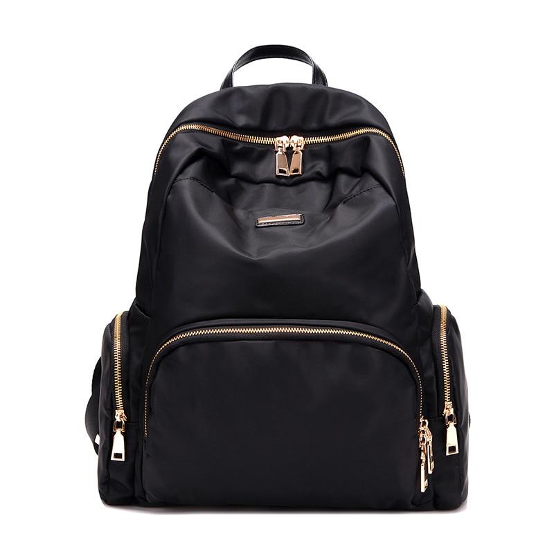 2017 New Women Backpacks Waterproof Nylon Student School Bags Girl Backpacks Female Casual Travel Bag Ladies Mochila Feminina