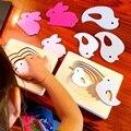 Детские Деревянные Многослойные Трехмерные Разведки Головоломки Кролик Дети от 2 до 3 лет