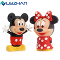 Hot Sale Cute Mickey Minnie USB Flash Drive  Pendrive 4GB 8GB 16GB USB Stick External Memory Storage Pen Drive