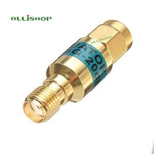 Image 2 - 2 W SMA الذكور إلى الإناث المخفف DC 6.0GHZ 50ohm 1 30dB موصلات RF الطاقة المخفض مانع