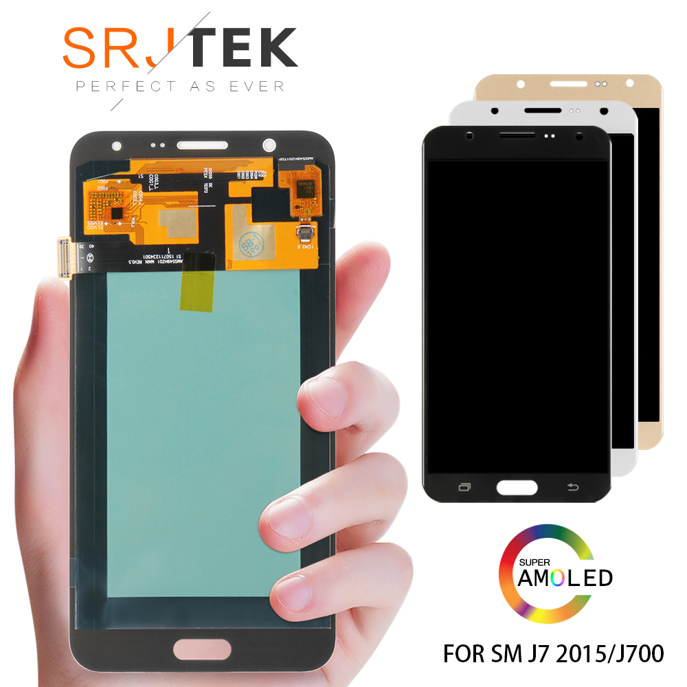 5.5Super AMOLED LCD for SAMSUNG Galaxy J7 2015 J700 LCD Display J700F J700M J700H Touch Screen Digitizer Replacement Parts5.5Super AMOLED LCD for SAMSUNG Galaxy J7 2015 J700 LCD Display J700F J700M J700H Touch Screen Digitizer Replacement Parts