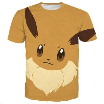 2018 Pokemon Lets go Eevee Fan art Unisex