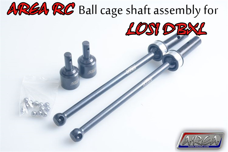 AREA RC Ball cage shaft  CVD 8MM thick drive shaft  assembly for LOSI DBXL gmd losi dbxl shcok dust cover pull starter cover air filter cover for 1 5 losi dbxl gas engine zenoah cy rc cars