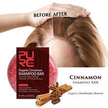 Оригинальные волосы утолщение корицы Шампунь Бар повышение корня волос против выпадения волос Восстановление роста волос Мыло Уход за волосами